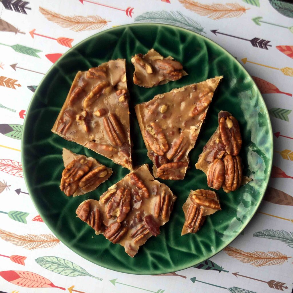 Low Carb Keto Bacon Pecan Brittle