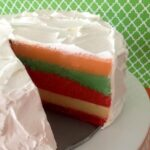 Low Carb Keto Jello Layer Cake
