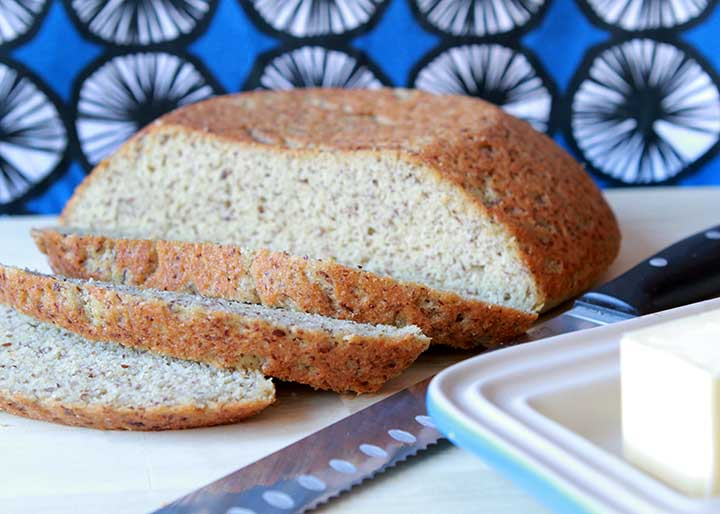 Keto Farmer's Yeast Bread Loaf