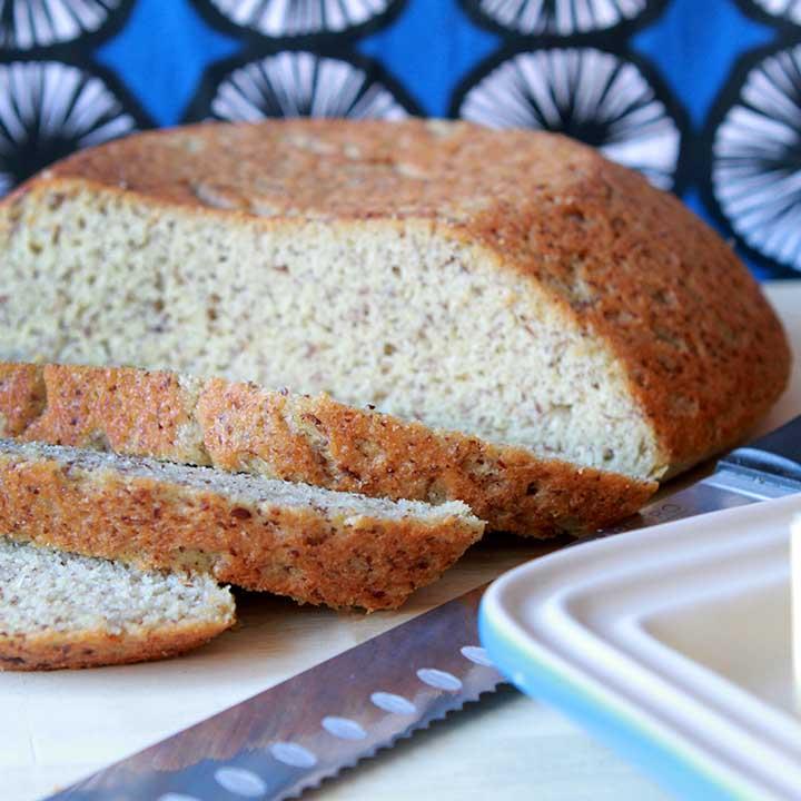 Keto Farmer's Yeast Bread Loaf