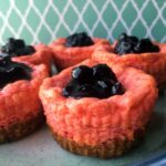 Low Carb Keto Berry Mini Cheesecakes