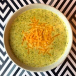 Low Carb Keto Cream of Broccoli Soup