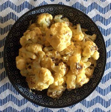 Low Carb Keto Cauliflower Mac-N-Cheese