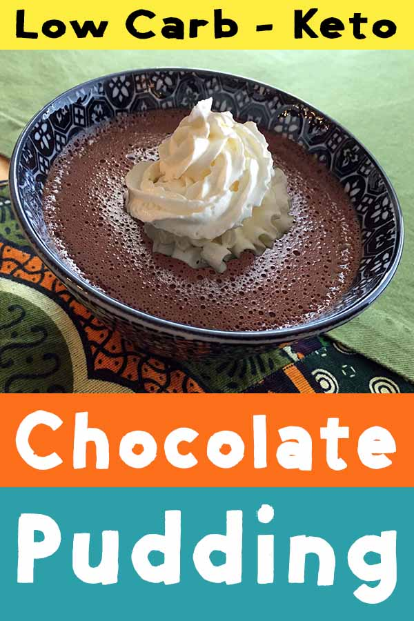 Gluten Free Sugar Free Chocolate Pudding