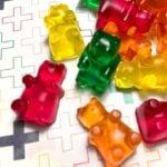 a pile of multi colored Keto gummy bears