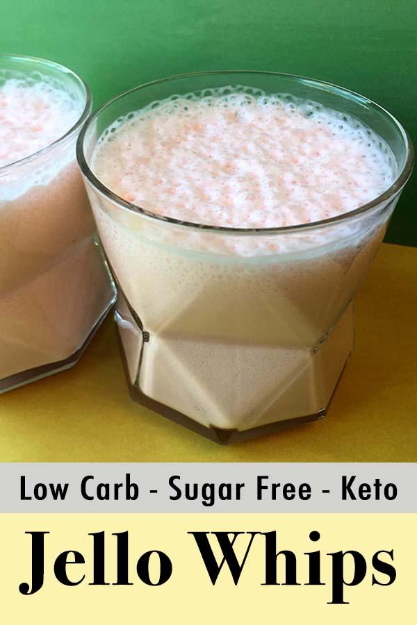 Gluten Free Sugar Free Jello Yogurt Whips Pinterest Pin