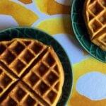 Low Carb Keto Pumpkin Waffles