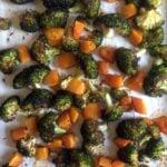Low Carb Keto Roasted Broccoli Butternut Squash