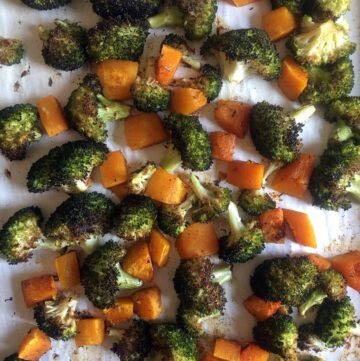 Roasted Broccoli and Butternut Squash