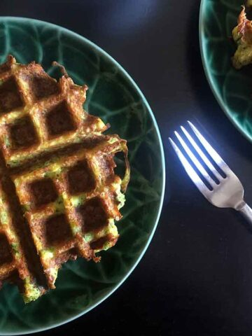 Keto Broccoli Chaffles