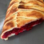 Low Carb Keto Braided Cranberry Danish