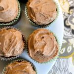Low Carb Keto Nutella Cupcakes