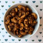 Low Carb Keto Sweet Spicy Cashews