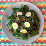 Low Carb Keto Spinach Salad