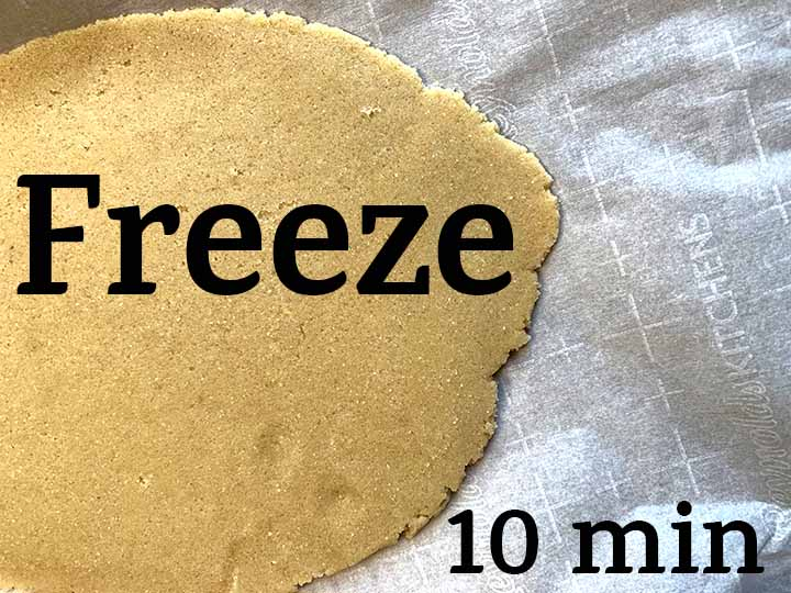 step 5 freeze the dough for 10 minutes