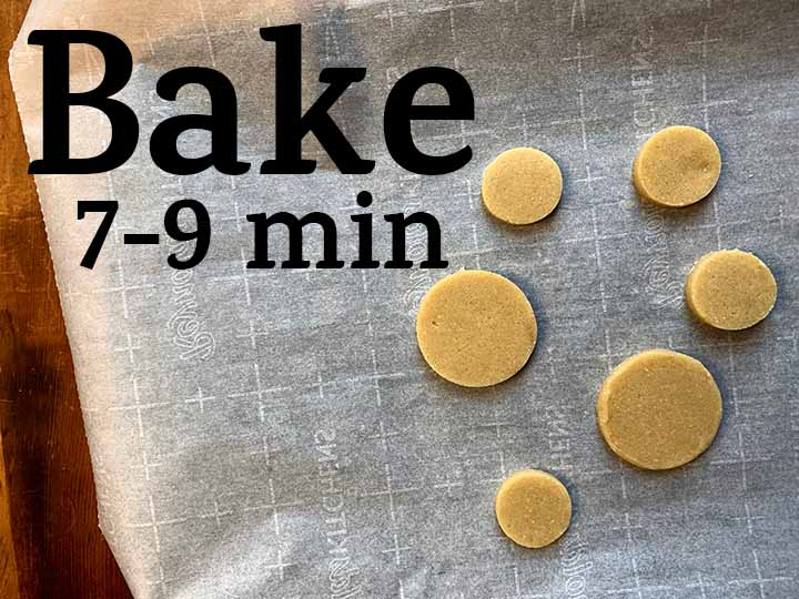 step 8 bake the cookies for 7-9 minutes until just beginning to brown at the edges