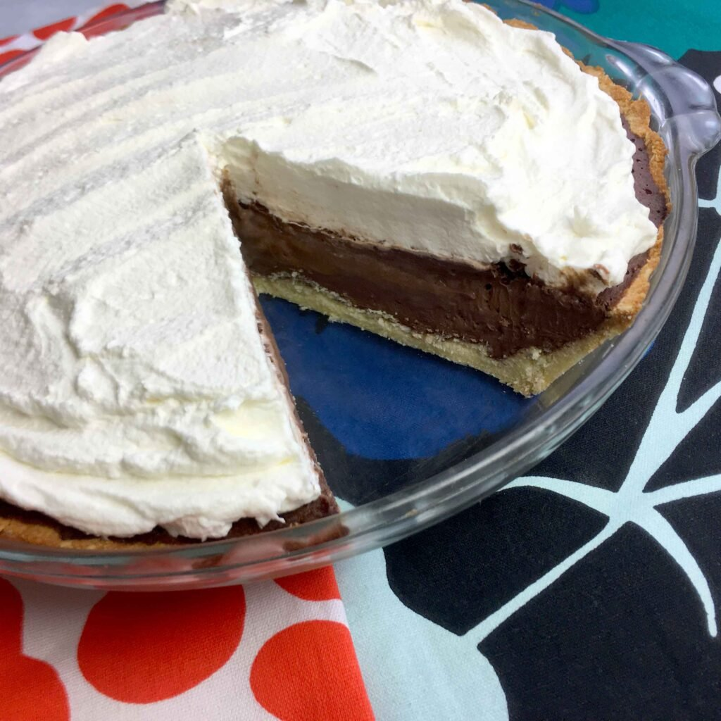 Low Carb Keto French Silk Chocolate Pie