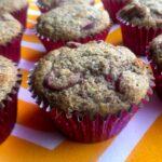 Low Carb Keto Lemon Cranberry Muffins