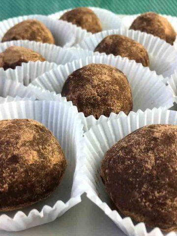 Keto Chocolate Brigadeiro Truffles