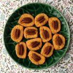 Keto Cheddar Pecan Crackers
