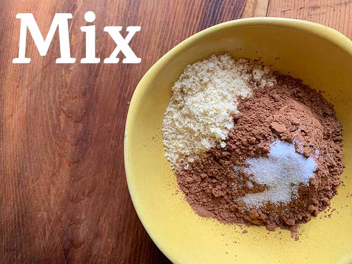 Step 3 mix together dry ingredients