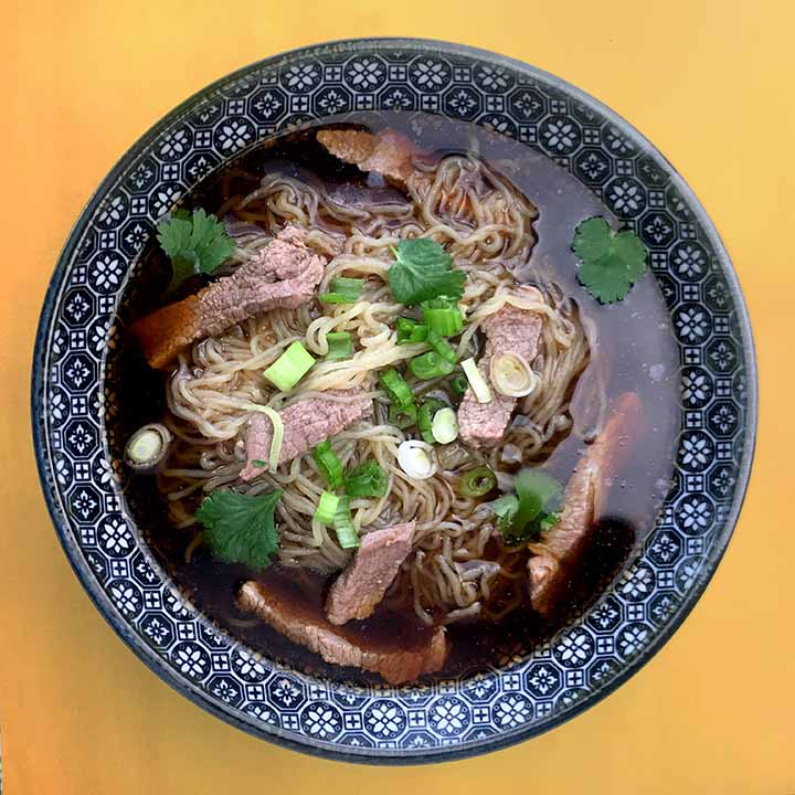 Beef Shirataki Noodle Pho Low Carb Keto Resolution Eats