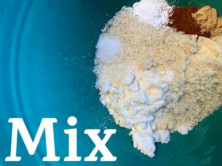 step 3 mix together the dry ingredients