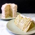 Low Carb Keto Crepe Layer Cake