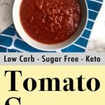 Gluten-Free Sugar-Free Pasta Sauce