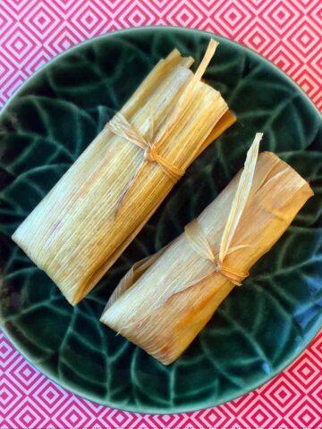 2 Keto Chicken Tamales