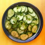 Low Carb Keto Tangy Cucumber Salad