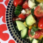Low Carb Keto Lebanese Salad