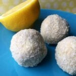 Low Carb Lemon Lime Bites