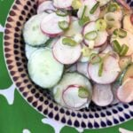 Low Carb Keto Radish and Cucumber Salad