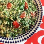 Low Carb Keto Hemp Seed Tabouleh