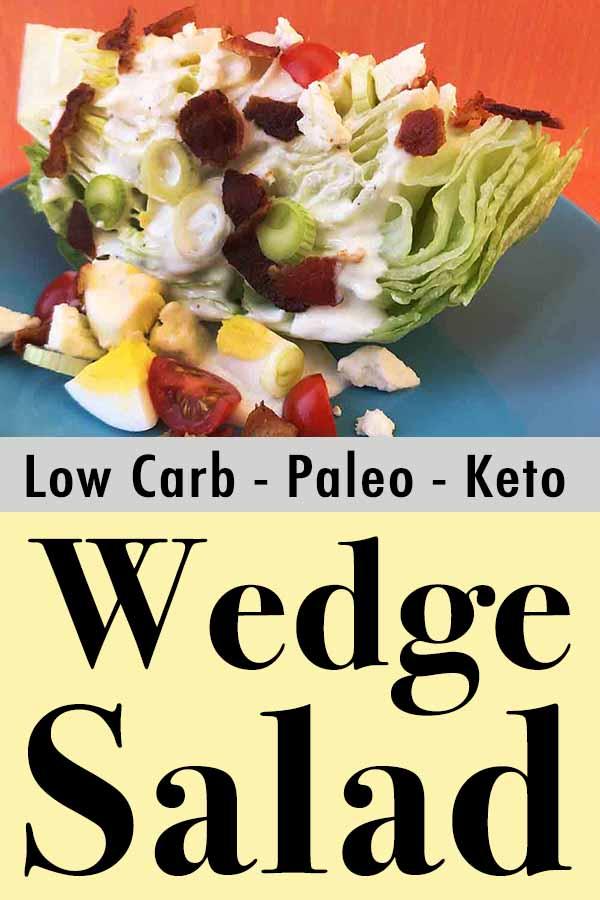 Paleo Whole30 Wedge Salad Pinterest Pin