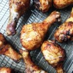 Low Carb Keto Lime Chicken Legs