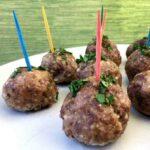 Low Carb Greek Meatballs