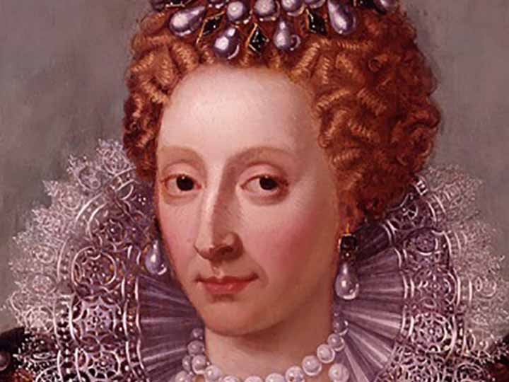 Painting of Queen Elizabeth I of England
