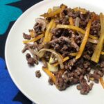 Low Carb Keto Ground Beef with Squash Noodles