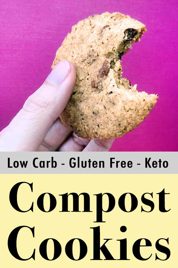 Low Carb Keto Compost Cookies Pinterest Pin