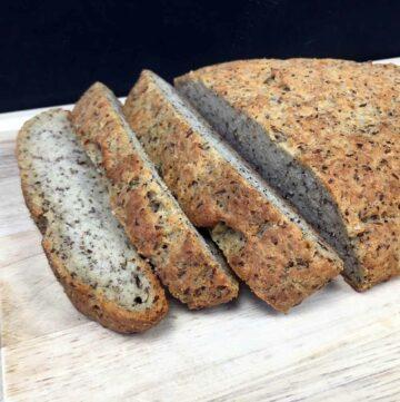 Low Carb Rustic Italian Yeast Bread