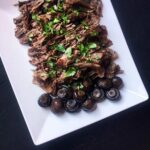 Low Carb Keto Shredded Beef with Mushrooms