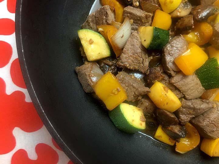 Low Carb Keto Steak Hibachi Recipe