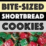 Pinterest Pin for Low Carb Cookie Bites