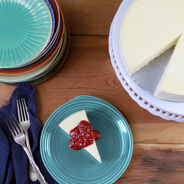 Low Carb Keto NY Style Cheesecake