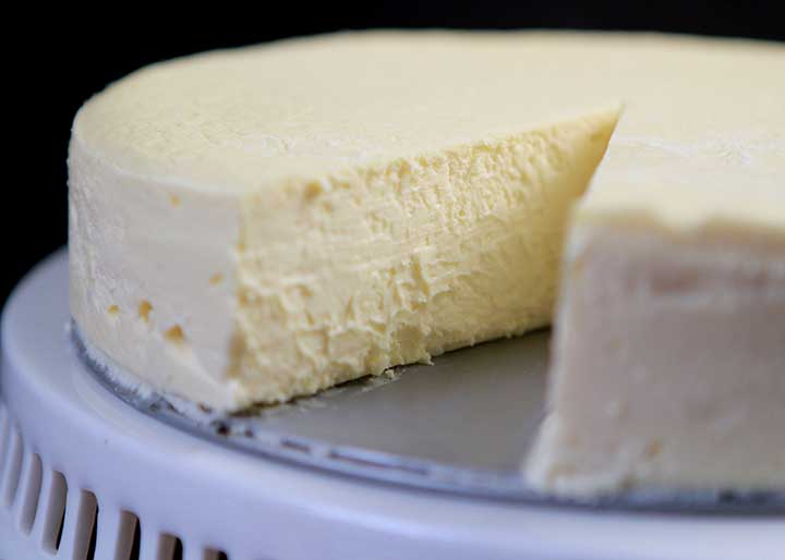 Low Carb Keto Classic New York Style Cheesecake