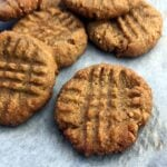 Low Carb Keto Peanut Butter Cookies