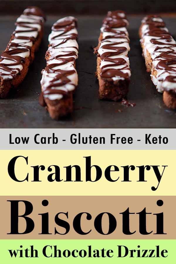 Gluten Free Paleo Cranberry Chocolate Biscotti Pinterest Pins