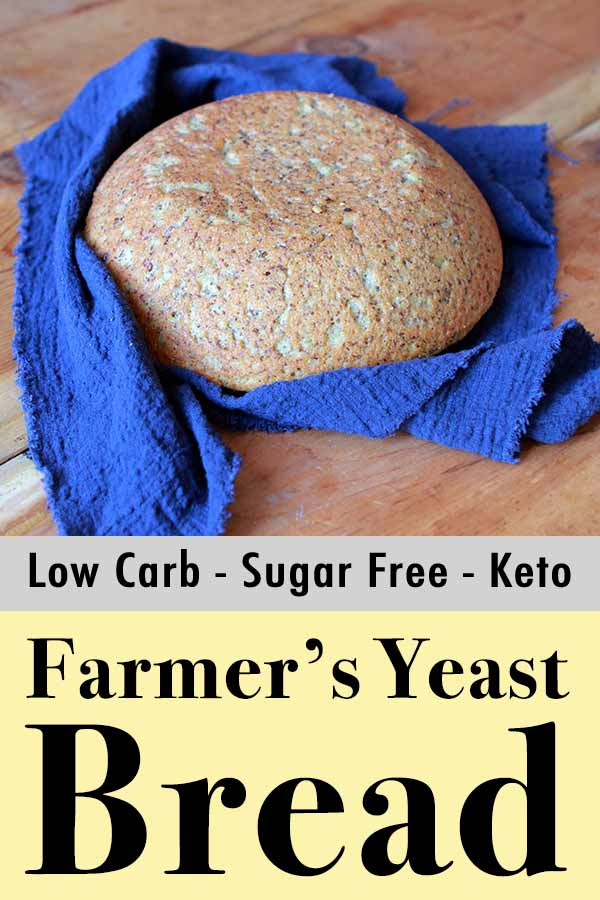 Paleo Sugar-Free Farmer's Yeast Bread